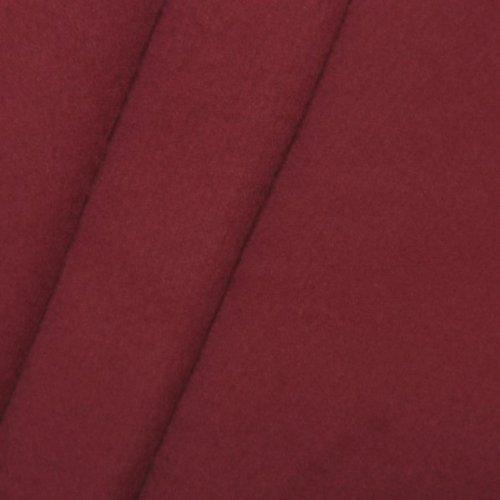 B1 Bühnen - Molton Stoff 300cm, Farbe Bordeaux
