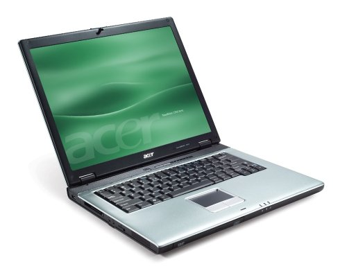 Acer TravelMate 2355LMi 38,1 cm (15 Zoll) XGA Laptop (Celeron M 360 1.4 Ghz, 512MB RAM, 60GB HDD, DVD-Dual, XP home) - Ram 60 Gb Dvd