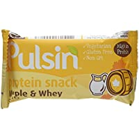 Pulsin Protein Snack Maple & Whey Crisp 18 x 50g bars