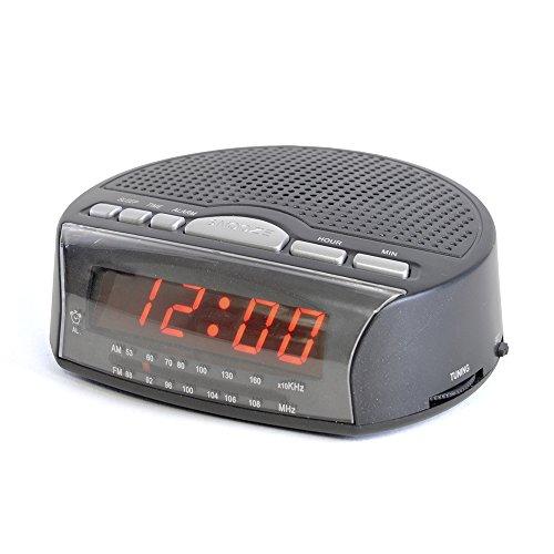 AM / FM Schlafzimmer Tagesanbruch Wecker / Netz mit Notfall Batterie / iCHOOSE