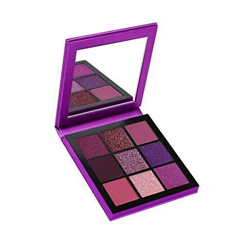 BOLANQ Pearl Glitter Lidschatten Pulver Palette Matt Lidschatten Kosmetik Make-Up 9 Farbe - Pupa Augen-palette