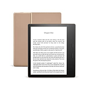 Kindle Oasis | Now with adjustable warm light | Waterproof, 32 GB, Wi-Fi | Gold