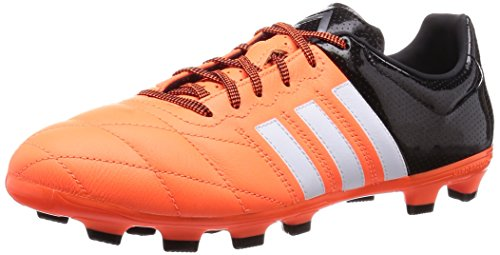 adidas Performance Ace15.3 Hg Leather Herren Fußballschuhe Orange (Solar Orange/Ftwr White/Core Black)