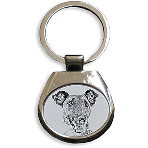 Fox Terrier, Nuovi portachiavi con cani di razza, regalo unico, sublimazione