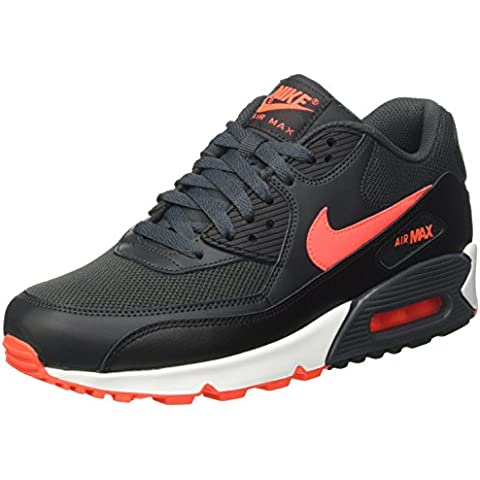 Nike Air Max 90 Essential, Zapatillas de Running para Hombre, Gris, 41-47.5 EU