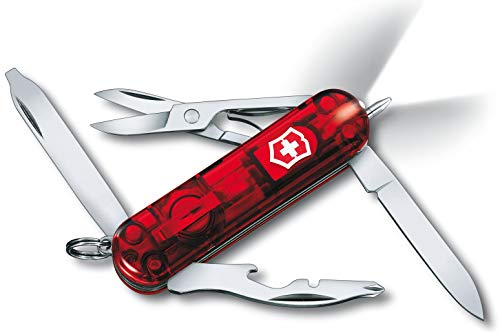 VICTORINOX 0.6288.T SwissLite Mini-outil de poche Rouge transparent