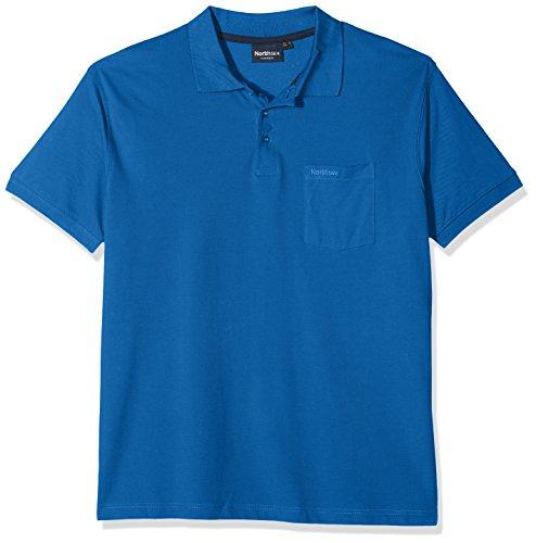 North 56-4 Herren 99011 Poloshirt, Blau (Cobolt Blue 0570), XXXXXX-Large (Herstellergröße: US-5XL) -