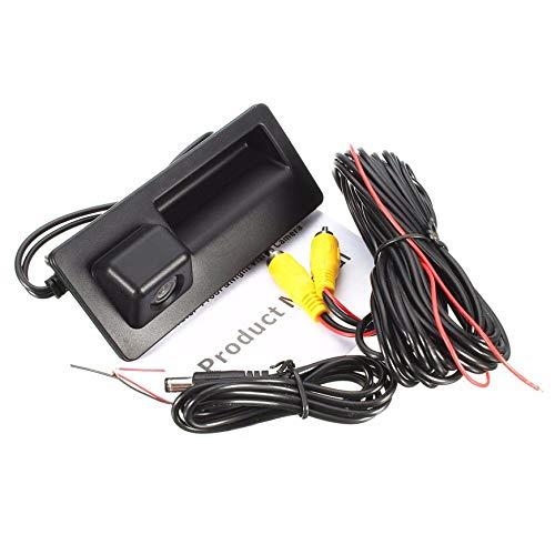 Pudincoco portatile retromarcia telecamera di retromarcia telecamera di retrovisione per VW per GOLF per JETTA per TIGUAN RCD510 RNS315 RNS310 RNS510 (nero)