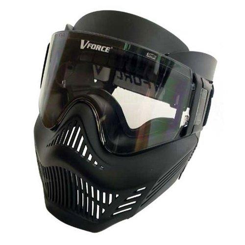 Paintball Maske VForce Armor Field-Vision, schwarz zu GI Sportz