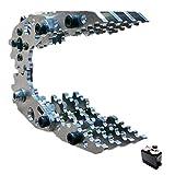 Sharplace Manipulador Brazo Mecánico Metal Robot Arm Paw + Engranaje de Dirección Simulado