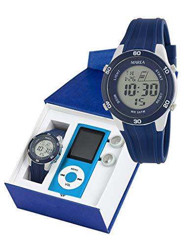 Conjunto Reloj Digital Marea Niño B35322/2 con Reproductor MP4