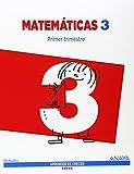 Matemáticas 3. (Aprender es crecer) - 9788467867749