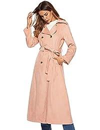Donna Grigio 4121324031 Cappotto Amazon it Abbigliamento xv78tTw