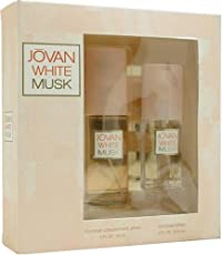 Jovan White Musk By Jovan For Women. Set Cologne Spray 2 Ounces & Cologne Spray .8 Ounces