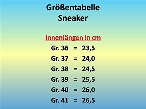 GIBRA® Sportschuhe, sehr leicht und bequem, neonorange/blau, Gr. 36-41 neonorange/blau