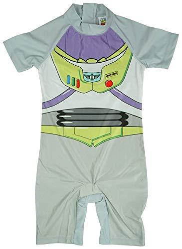 Lightyear Jahre Buzz 3 Kostüm 2 - Jungen Disney Pixar Buzz Lightyear Badeanzug Schwimmen Surfanzug Sonnenschutz Größen von 1.5 to 5 Jahre - 2-3 Years