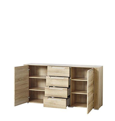 Paul DORRA61020 Sideboard, Holz, braun, 41 x 170 x 87 cm - 2