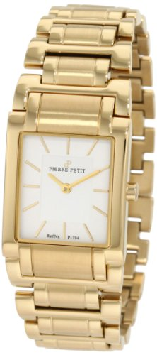Pierre Petit Women's Quartz Watch Laval P-794D with Metal Strap