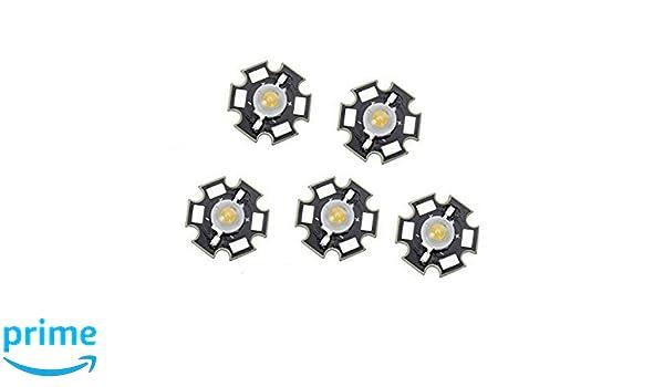 LED ad alte prestazioni chip 10w bianco caldo HIGHPOWER emettitori HIPOWER 10 WATT BIANCO CALDO