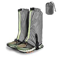 مقاوم للماء للثلوج حذاء جايترز للتنزه في الهواء الطلق والتسلق والصيد والساقين -  -  13.4in