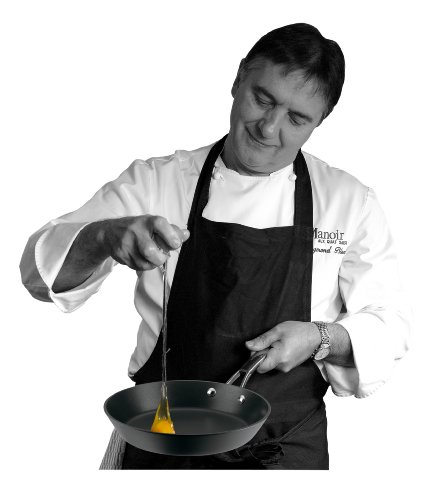 Raymond Blanc by Anolon Professional Hard Anodised Non-stick Covered Stockpot, 7.6 Litre – 24 cm