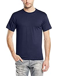Fruit of the Loom Heavy Cotton Tee Shirt - T-shirt - coupe droite - Col rond - Manches courtes - Homme