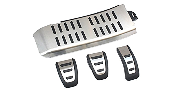 New Genuine Audi A4 8 K A5 8t Q5 8r Pedals Footrest Pedal Caps S Line Rs4 Rs5 S4 S5 Sq5 Pedal Set Stainless Steel Caps Auto