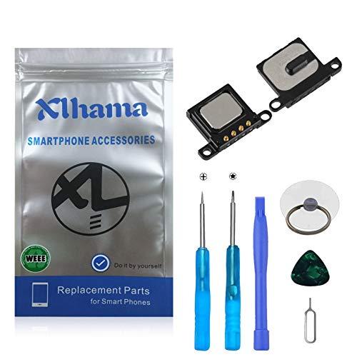 Xlhama 2-Pack Ensamblaje Auricular Altavoz Interno Compatible con iPhone 6S Plus Ear Speaker de Repuesto con Kit Desmontaje transformación de reemplazo con Completa Herramientas Incluidas
