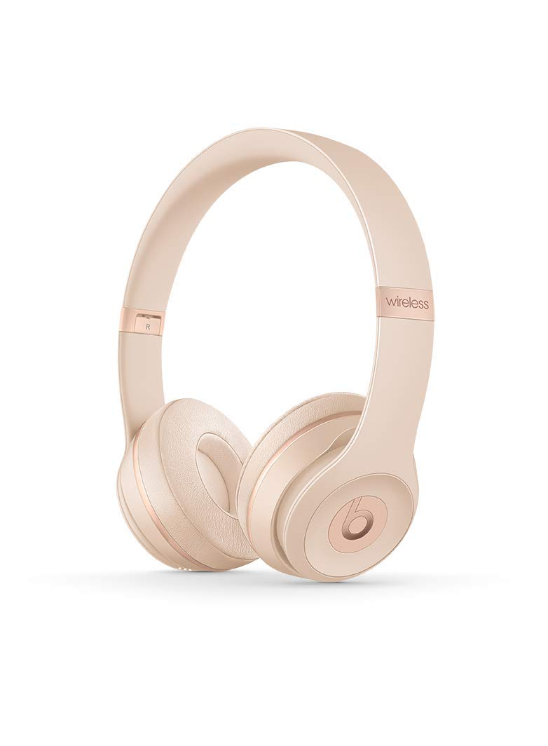 Beats Solo3 Wireless Kopfhörer – Beats Icon Collection, Mattgold