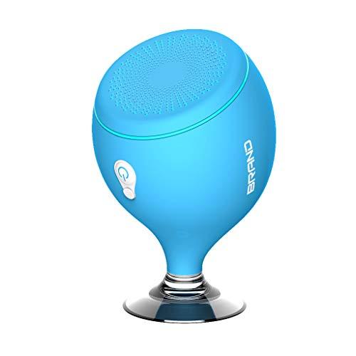 jgashf Altavoz Bluetooth Ducha Inalambrico Flotante Impermeable con Ventosa Manos Libres Piscina Coche Cocina Impermeable Portatil Verde Compatible Viajes,Aire Libre