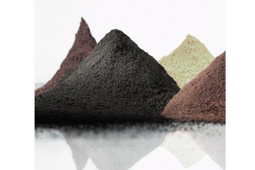 Preisvergleich Produktbild @tec Premium Pigmentpulver, Eisenoxid, Oxidfarbe - 1kg Farbpigmente/Trockenfarbe für Beton + Wand - Farbe: rot/ziegel