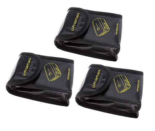 3x Lipo Batterie Akku Tasche Beutel Safe Bag Sicherheit Pouch Für DJI Mavic Pro -