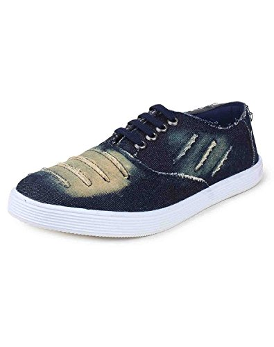 Red Rose Men's Blue Casual Shoes (8, Blue)  available at amazon for Rs.149
