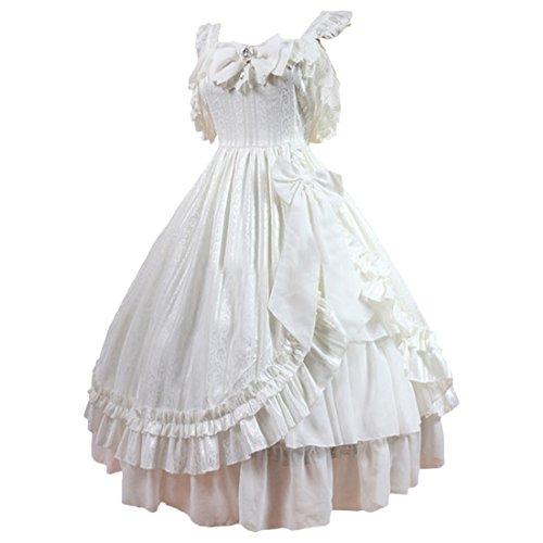 Partiss - Robe - Plissée - Femme Blanc