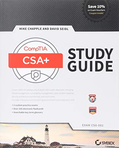 Comptia Cysa+ Study Guide: Exam Cs0-001 por Mike Chapple