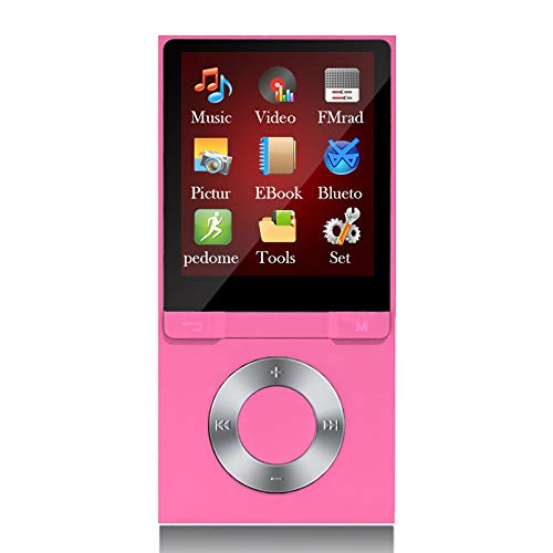 LIGHTOP MP3 Player Sport Bluetooth 8 GB Bluetooth mit Kopfhörer Sport 1.8