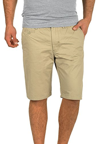 BLEND Sasuke Herren Chino Shorts kurze Hose, Größe:S;Farbe:Chalk Stone (70032) Stone Chino