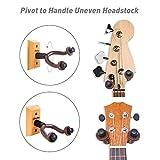 [Crochet de Guitare] Ohuhu® Bois de Feuillu Maison and L\'atelier Guitar Hanger/Crochet de Guitare/Support Mural Universel en Bois pour Guitare , Pack 2