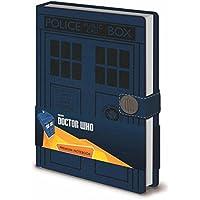 "Pyramid International A5 Doctor Who ""Tardis"" Notebook"