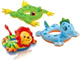 Intex Childs Kids Inflatable Animal Swim Ring Swimming Paddling Pool Float Toy by Intex