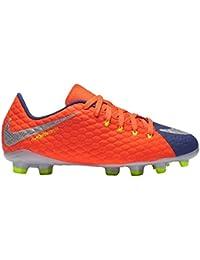 852595-409 Kids' Nike Jr. Hypervenom Phelon III (FG)