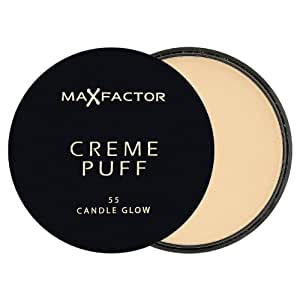 MAX FACTOR Creme Puff Foundation Refill 55 Candle Glow