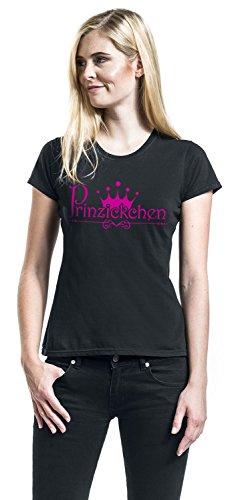 Prinzickchen Girl-Shirt Schwarz Schwarz