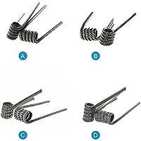 Demon Killer wickel de alambre Wick y Vape vorkompilierte Bobinas alambre Raging Fire Coil Wires para RDA/RBA/RTA/rdta y presupuesto Uso de cableado