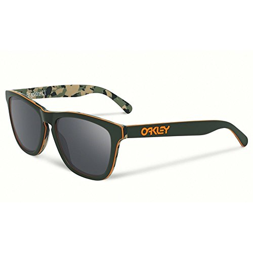 Oakley Herren Sonnenbrille Frogskin LX Koston Camo Green