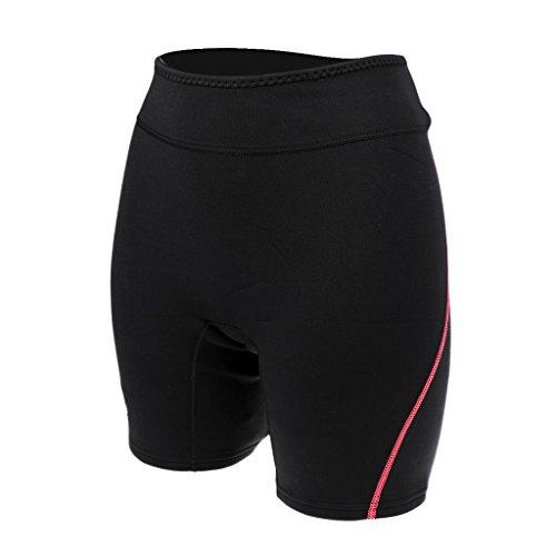 Baoblaze Neoprenhose 1.5mm Neopren Shorts Für Damen und Herren - Rot, Frauen M
