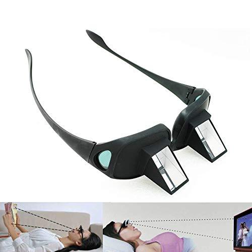 ders Prisma Brille Bett Brille Horizontale Brillen, Myopie Presbyopic verwendbar, Unisex ()
