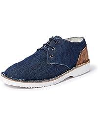 Amazon Brand - Symbol Men's Denim Casual Chukka shoes