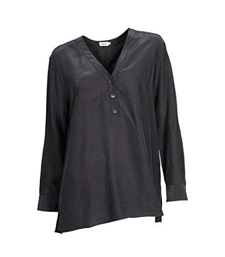 filippa-k-camisas-con-botones-bsico-manga-larga-para-mujer-carbn-m
