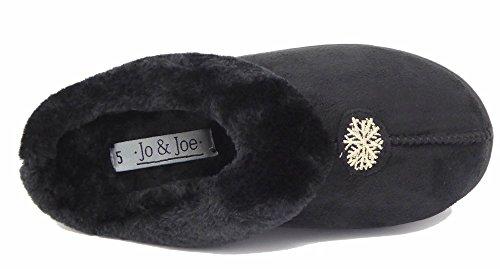 Jo & JoSnuggle - Ciabatte donna Black